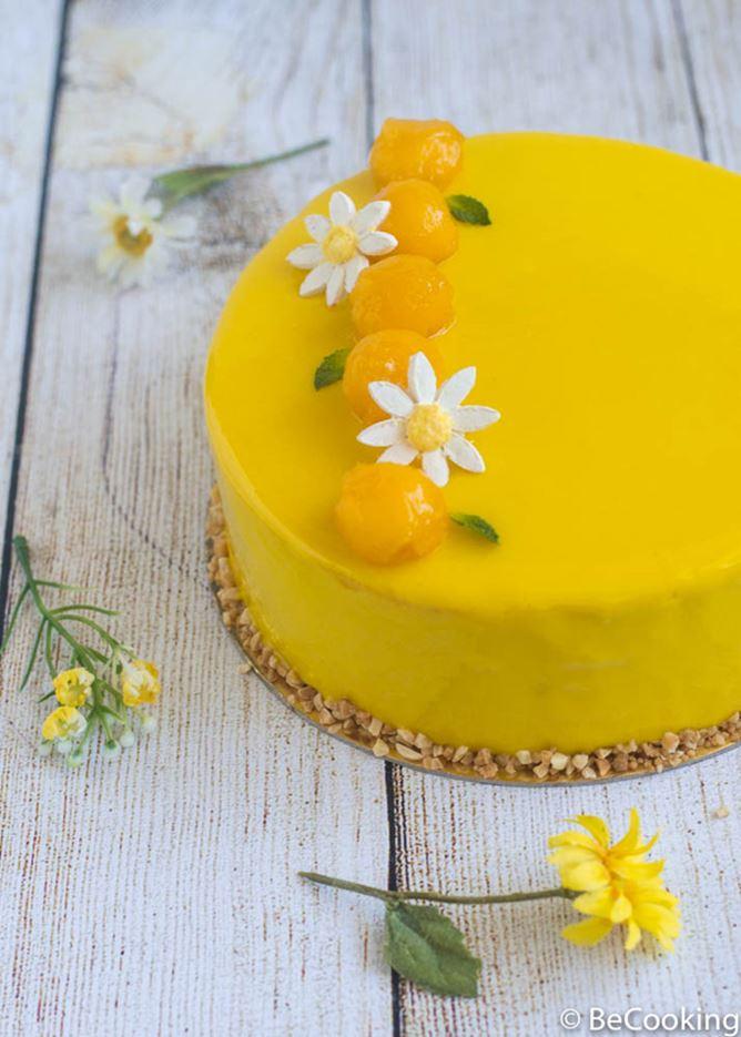 Tarta de Piña y Mango