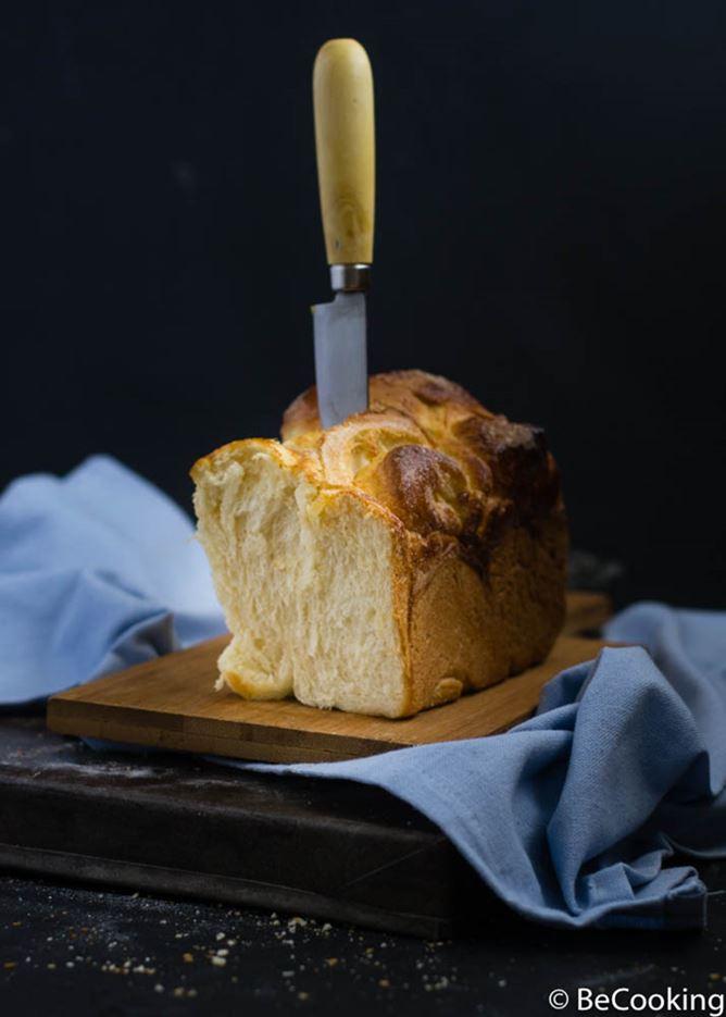 Pan de Brioche Ruso