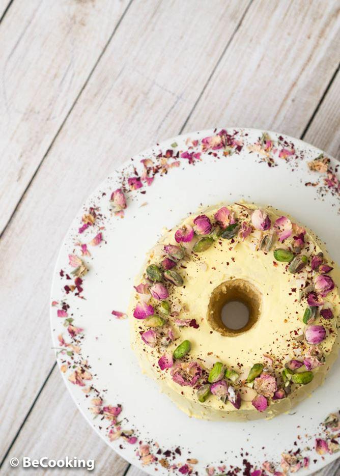 Ras Malai Chiffon Cake