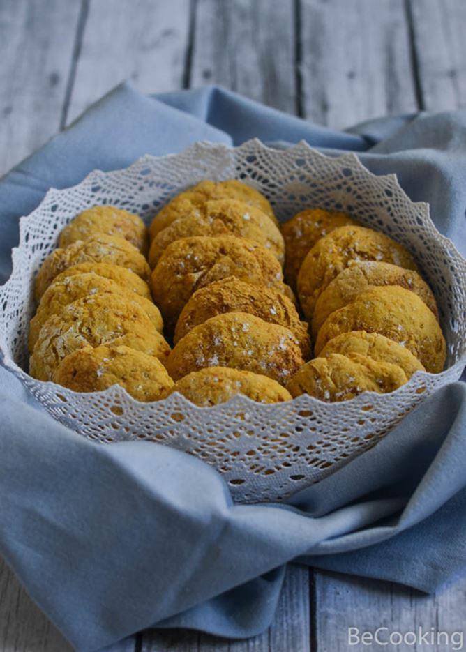 Cookies de naranja y zanahoria
