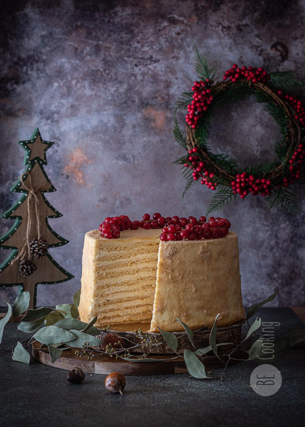 Tarta Medovic (pastel de miel)