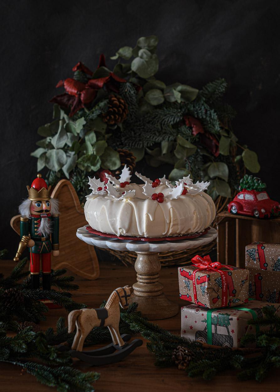 Corona Blanca Navidad