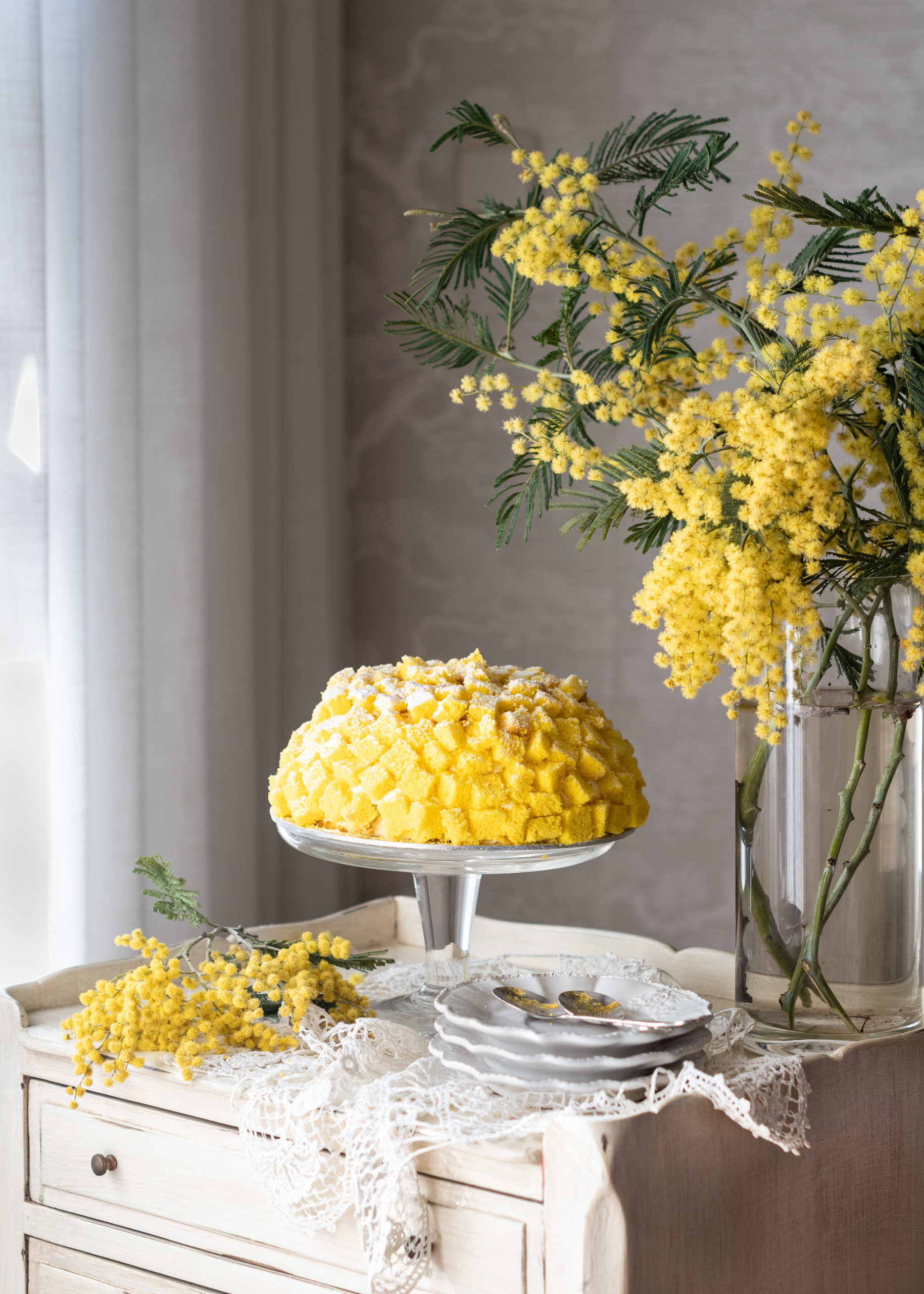 Tarta Mimosa