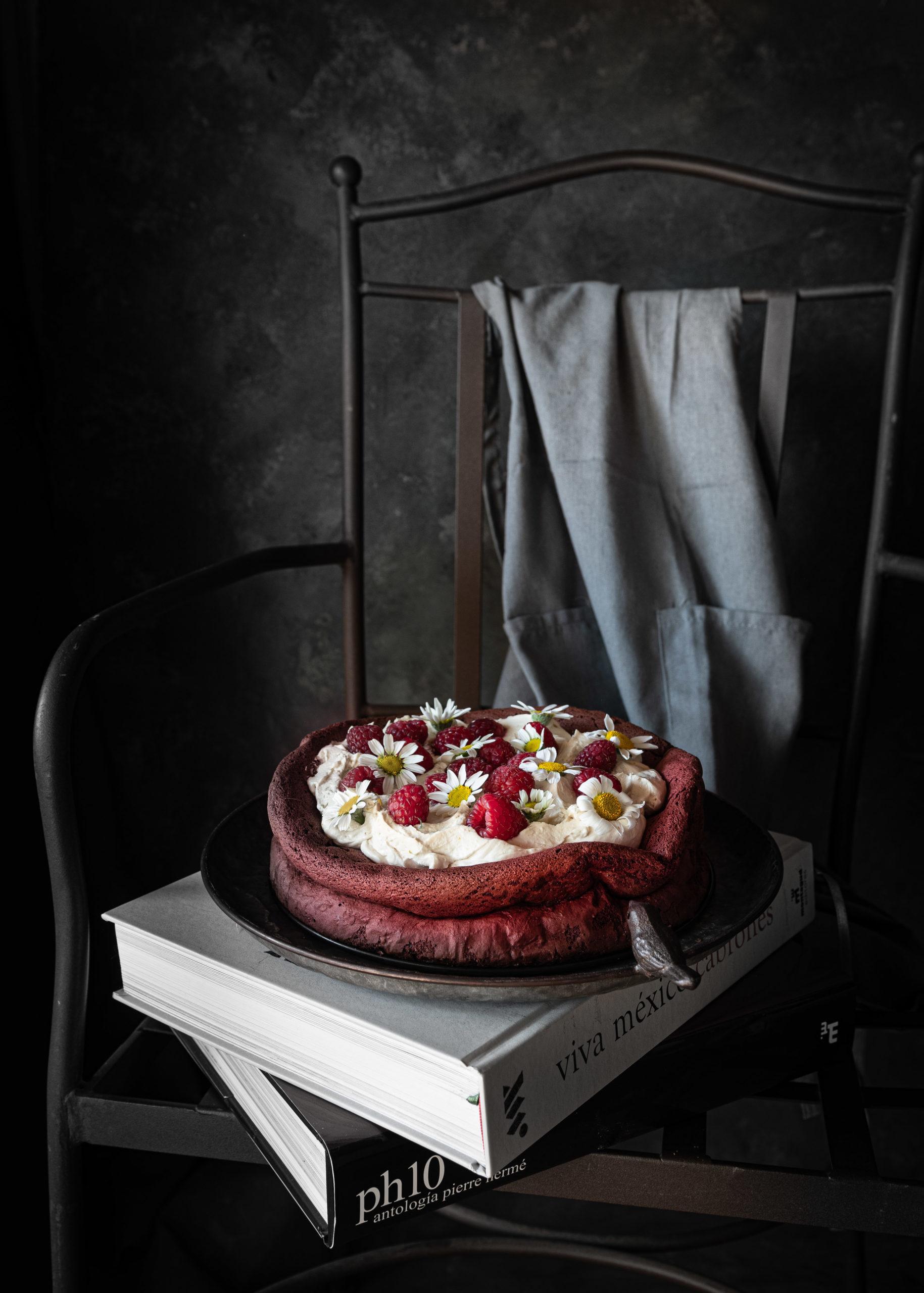Flourless Red Velvet Cake